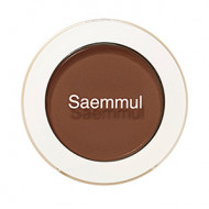 Тени для век матовые The Saem Saemmul Single Shadow Matte BR16 Elegant Brown ,6гр: фото