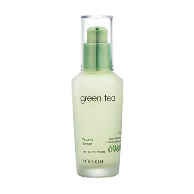 Сыворотка для жирной и комбинированной кожи с зеленым чаем IT'S SKIN Green Tea Watery Serum: фото