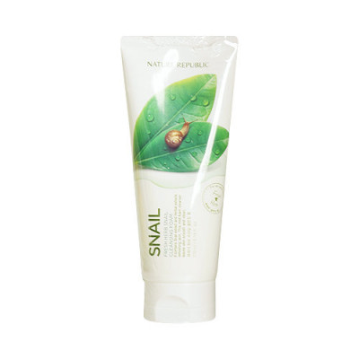 Пенка для умывания NATURE REPUBLIC FRESH HERB SNAIIL CLEANSING FOAM 170мл: фото
