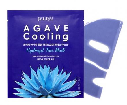 Маска гидрогелевая c экстрактом АГАВЫ Agave Cooling Hydrogel Face Mask 5шт: фото