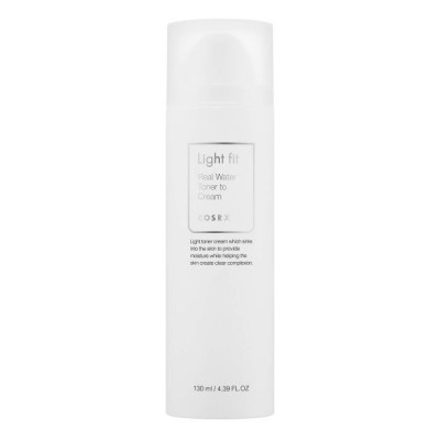 Тонер-крем 2в1 CosRX Light Fit Real Water Toner To Cream 130мл: фото