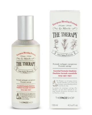 Эмульсия лечебная для лица The Face Shop The Therapy Essential Formula Emulsion 130 мл: фото