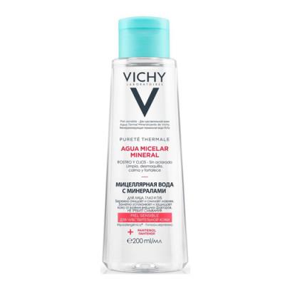 Мицеллярная вода с минералами для чувствительной кожи Vichy, Purete Thermal 200 мл: фото