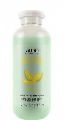 Бальзам для всех типов волос Банан и дыня Kapous Aromatic Symphony Banana Melon 350 мл: фото
