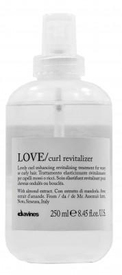 Ревиталайзер для усиления завитка Davines Essential Haircare Love curl revitalizer 250мл: фото