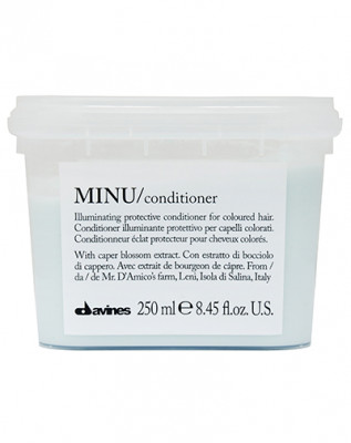 Кондиционер защитный для сохранения косметического цвета волос Davines MINU conditioner 250мл: фото