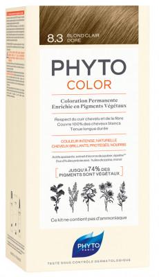 Краска для волос Phytosolba PhytoCOLOR №8.3 Светлый золотистый блонд: фото