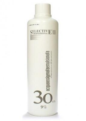 Оксигент 9% для олигоминеральной крем-краски SELECTIVE Professional Acqua Ossigenata Emulsionata 1000мл: фото