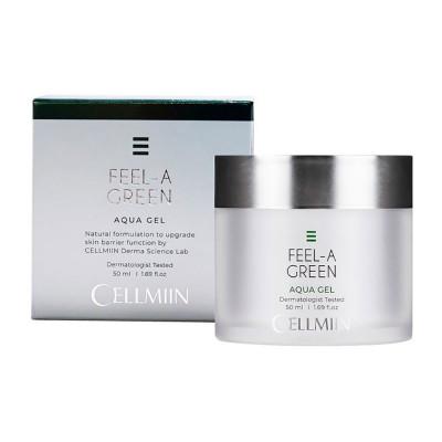 Аква гель для лица CELLMIIN FEEL-A-GREEN AQUA GEL 50 мл: фото
