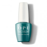 Гель для ногтей OPI GelColor GCN74 DANCE PARTY 'TEAL DAWN 15мл: фото