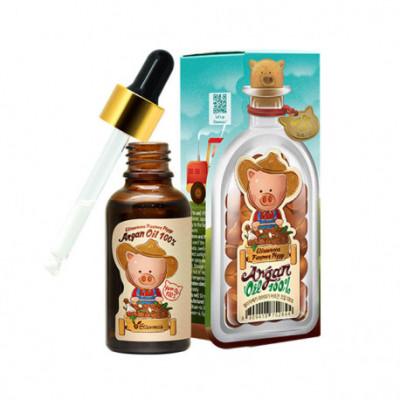 Масло аргановое универсальное Elizavecca farmer piggy argan oil 100% 30мл: фото