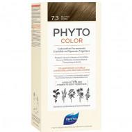 Краска для волос PHYTOSOLBA PHYTO COLOR 7.3 Золотистый блонд: фото