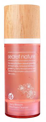 Гидрофильное масло-пенка с вишней Secret Nature Cherry Blossom Oil to Foam Cleanser 100 мл: фото