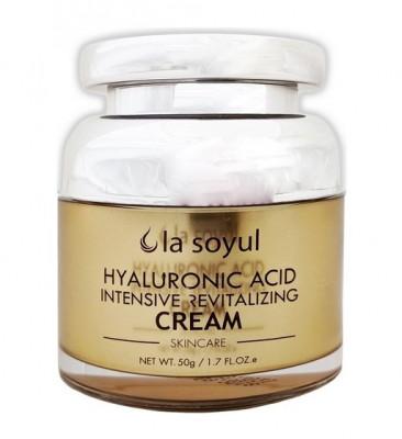 Крем Омолаживающий с гиалуроновой кислотой La Soyul Hyaluronic Acid Intensive Revitalizing Cream 50 г: фото