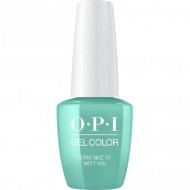Гель для ногтей OPI GelColor Verde Nice to Meet You GCM84 15 мл: фото