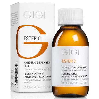 Пилинг-коктейль миндальная кислота 13% + салициловая кислота 2% GiGi Ester C 100 мл: фото