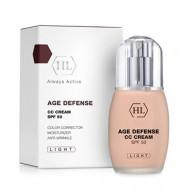 Тональный крем корректирующий Holy Land AGE DEFENSE CC Cream Light SPF50 50мл: фото