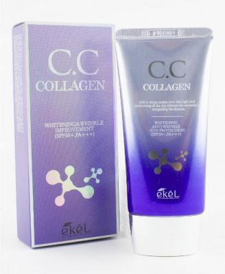 СС-крем с коллагеном Ekel CC Cream Collagen 50мл: фото