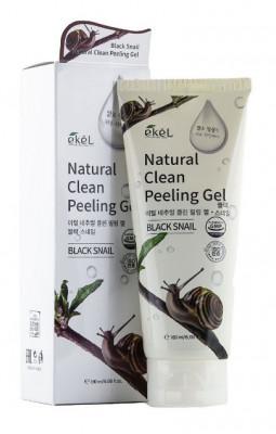 Пилинг для лица с экстрактом улиточного муцина Ekel Peeling Gel Black Snail 180 мл: фото