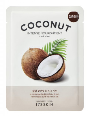 Тканевая маска увлажняющая с кокосом It's Skin The Fresh Mask Sheet Coconut 18 г: фото