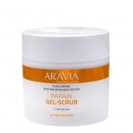 Гель-скраб против вросших волос ARAVIA Professional Papain Gel-Scrub 300мл: фото