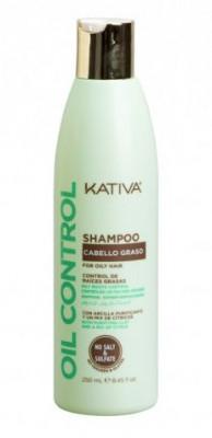 """Шампунь для жирных волос Kativa OIL CONTROL """"Контроль"""" 250мл: фото"""