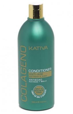 Коллагеновый кондиционер для всех типов волос Kativa COLAGENO 500 мл: фото