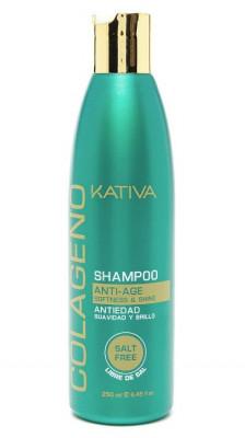 Коллагеновый шампунь для всех типов волос Kativa COLAGENO 250мл: фото