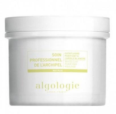 Очищающая маска-компресс с белой глиной для жирной и смешанной кожи Algologie 100г: фото