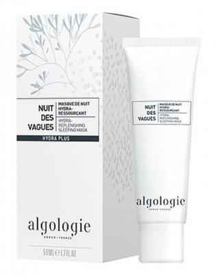 """Увлажняющая восстанавливающая ночная маска Algologie """"Морские волны"""" 50мл: фото"""