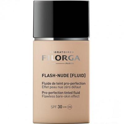 Совершенствующий тональный флюид Бежевый Нюд Filorga Flash-Nude Pro-perfection tinted fluid Beige: фото