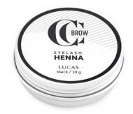 Хна для окрашивания ресниц и бровей CC Brow Eyelashes&Brow в баночке (черная), 10г: фото