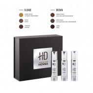 Набор для окрашивания бровей CC Brow HD Premium henna BLONDE: фото