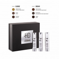 Набор для окрашивания бровей CC Brow HD Premium henna BRUNETTE: фото