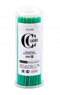 Микробраши CC Lashes размер M, зеленый, 100 шт: фото
