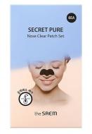 Набор масок-патчей для носа THE SAEM Secret Pure Nose Clear Patch Set: фото