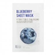 Тканевая маска с экстрактом черники EUNYUL Purity Blueberry Sheet Mask 22мл