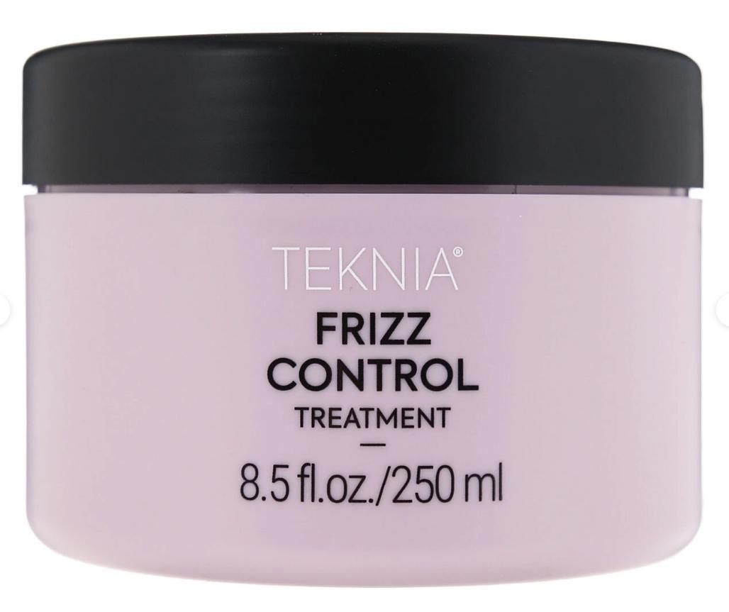 Дисциплинирующая маска для непослушных или вьющихся волос Lakme Teknia FRIZZ CONTROL TREATMENT 250 мл: фото
